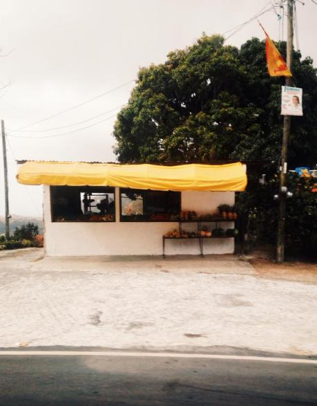 Fruit stand on the way to El Valle de Anton.
