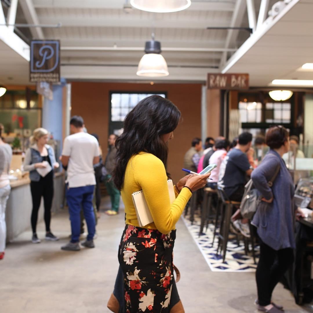 Ligaya Malones at Liberty Public Market at Liberty Station, San Diego, California