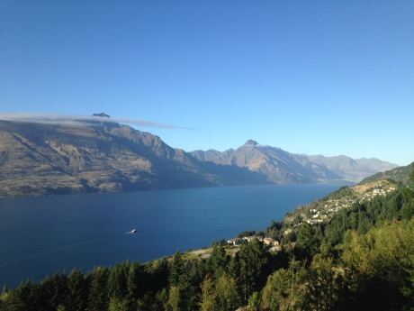 View from our hike up to Skyline, Queenstown.