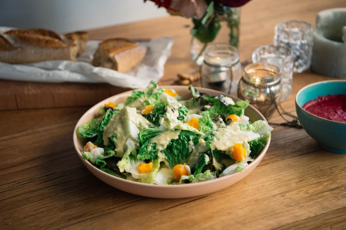Curious Palate: A Lighter Caesar Salad [RECIPE]
